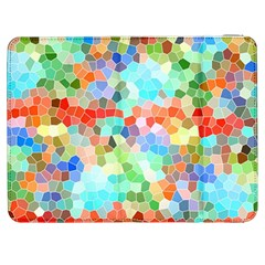 Colorful Mosaic  Samsung Galaxy Tab 7  P1000 Flip Case by designworld65