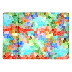 Colorful Mosaic  Samsung Galaxy Tab 10 1  P7500 Flip Case by designworld65