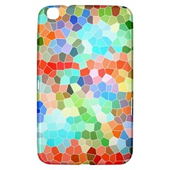 Colorful Mosaic  Samsung Galaxy Tab 3 (8 ) T3100 Hardshell Case  by designworld65