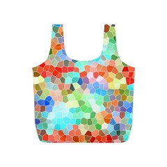 Colorful Mosaic  Full Print Recycle Bags (s)  by designworld65