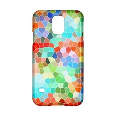 Colorful Mosaic  Samsung Galaxy S5 Hardshell Case  by designworld65