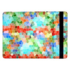 Colorful Mosaic  Samsung Galaxy Tab Pro 12 2  Flip Case by designworld65