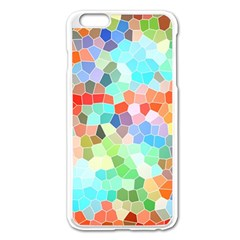 Colorful Mosaic  Apple Iphone 6 Plus/6s Plus Enamel White Case by designworld65
