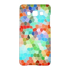 Colorful Mosaic  Samsung Galaxy A5 Hardshell Case  by designworld65