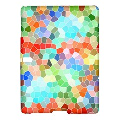 Colorful Mosaic  Samsung Galaxy Tab S (10 5 ) Hardshell Case  by designworld65
