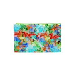 Colorful Mosaic  Cosmetic Bag (XS)