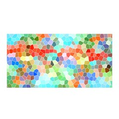 Colorful Mosaic  Satin Wrap by designworld65