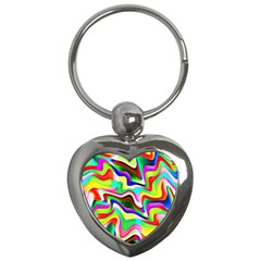 Irritation Colorful Dream Key Chains (Heart)