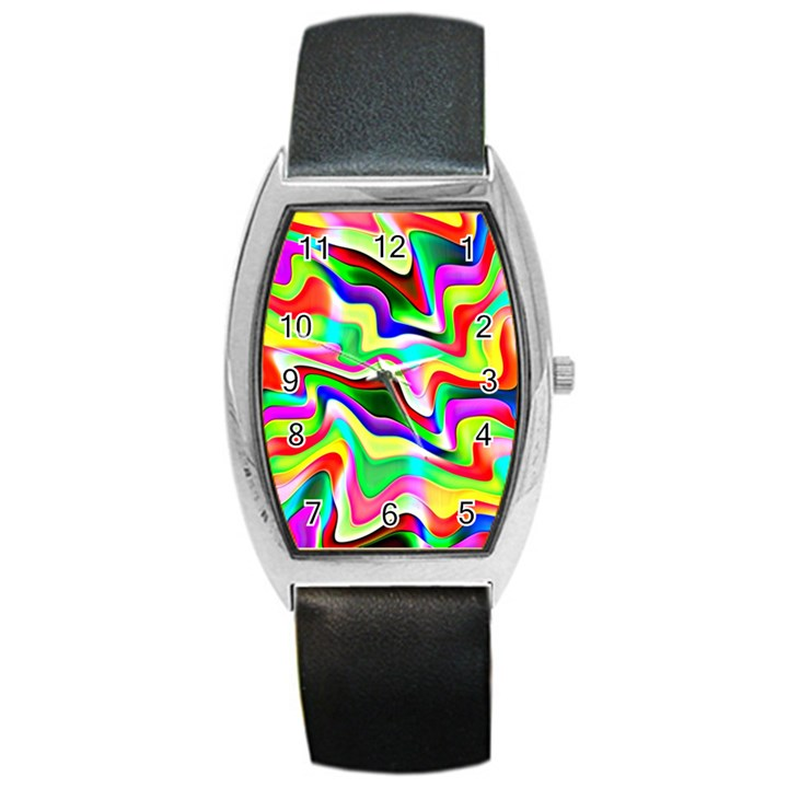 Irritation Colorful Dream Barrel Style Metal Watch