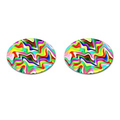 Irritation Colorful Dream Cufflinks (Oval)