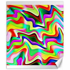 Irritation Colorful Dream Canvas 8  x 10