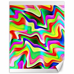 Irritation Colorful Dream Canvas 12  x 16