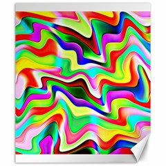 Irritation Colorful Dream Canvas 20  X 24   by designworld65