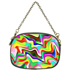 Irritation Colorful Dream Chain Purses (one Side)  by designworld65