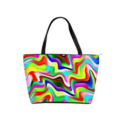 Irritation Colorful Dream Shoulder Handbags by designworld65