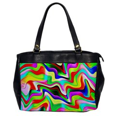 Irritation Colorful Dream Office Handbags