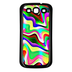 Irritation Colorful Dream Samsung Galaxy S3 Back Case (Black)