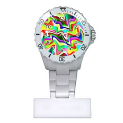 Irritation Colorful Dream Plastic Nurses Watch