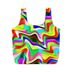 Irritation Colorful Dream Full Print Recycle Bags (M)