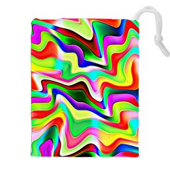 Irritation Colorful Dream Drawstring Pouches (XXL)