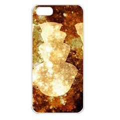 Sparkling Lights Apple Iphone 5 Seamless Case (white) by yoursparklingshop