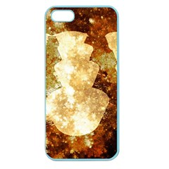 Sparkling Lights Apple Seamless iPhone 5 Case (Color)