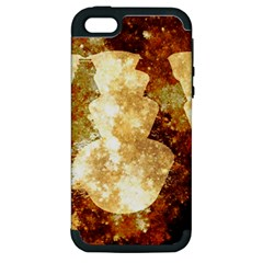 Sparkling Lights Apple iPhone 5 Hardshell Case (PC+Silicone)