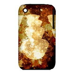 Sparkling Lights Apple iPhone 3G/3GS Hardshell Case (PC+Silicone)