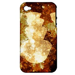Sparkling Lights Apple iPhone 4/4S Hardshell Case (PC+Silicone)