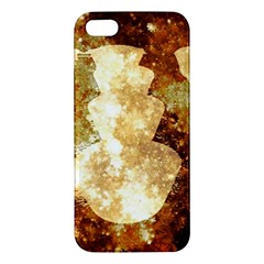 Sparkling Lights Apple Iphone 5 Premium Hardshell Case by yoursparklingshop