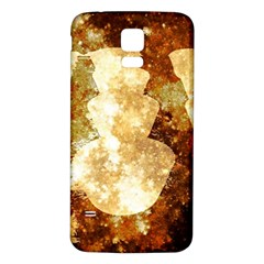 Sparkling Lights Samsung Galaxy S5 Back Case (White)
