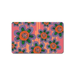Colorful Floral Dream Magnet (Name Card)