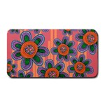 Colorful Floral Dream Medium Bar Mats 16 x8.5  Bar Mat