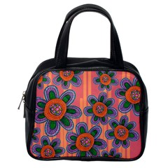 Colorful Floral Dream Classic Handbags (One Side)