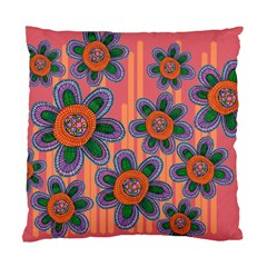 Colorful Floral Dream Standard Cushion Case (One Side)