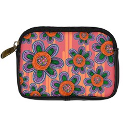 Colorful Floral Dream Digital Camera Cases
