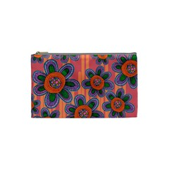 Colorful Floral Dream Cosmetic Bag (Small)
