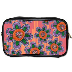 Colorful Floral Dream Toiletries Bags