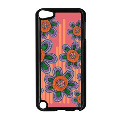 Colorful Floral Dream Apple iPod Touch 5 Case (Black)