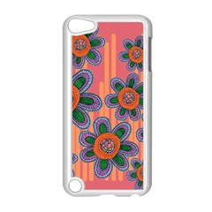 Colorful Floral Dream Apple iPod Touch 5 Case (White)
