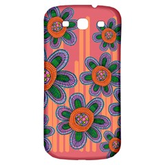 Colorful Floral Dream Samsung Galaxy S3 S III Classic Hardshell Back Case