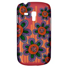 Colorful Floral Dream Samsung Galaxy S3 MINI I8190 Hardshell Case