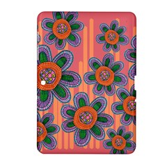 Colorful Floral Dream Samsung Galaxy Tab 2 (10.1 ) P5100 Hardshell Case