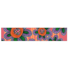 Colorful Floral Dream Flano Scarf (Small)