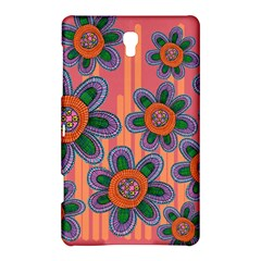 Colorful Floral Dream Samsung Galaxy Tab S (8.4 ) Hardshell Case