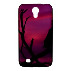 Vultures At Top Of Tree Silhouette Illustration Samsung Galaxy Mega 6.3  I9200 Hardshell Case