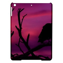 Vultures At Top Of Tree Silhouette Illustration iPad Air Hardshell Cases