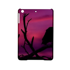 Vultures At Top Of Tree Silhouette Illustration iPad Mini 2 Hardshell Cases