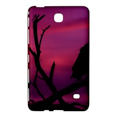 Vultures At Top Of Tree Silhouette Illustration Samsung Galaxy Tab 4 (7 ) Hardshell Case