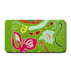 Green Organic Abstract Medium Bar Mats by DanaeStudio